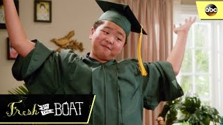 Eddie Graduates - Fresh Off The Boat 3x22