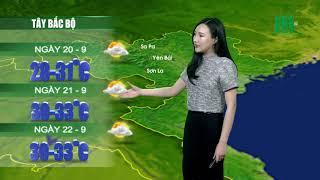Thời tiết 12h 19/09/2018: Từ mai miền Bắc mưa sẽ giảm về diện và lượng | VTC14