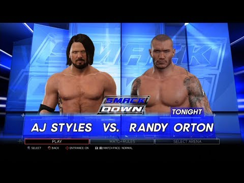 Xxx Mp4 WWE 2K17 PS3 Gameplay AJ Styles VS Randy Orton 60FPS FullHD 3gp Sex