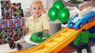 HAPPY BIRTHDAY CALVIN! 🎁 Calvin's 3rd Birthday Party Vlog