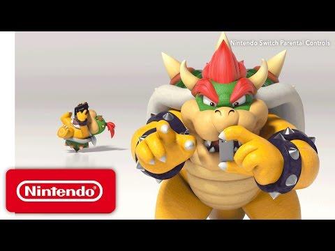 Nintendo Switch Parental Controls Nintendo Switch Presentation 2017 Trailer