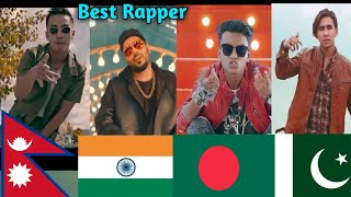 Which Country Rap Do You Like The Most? South Asian Hip-hop |Badshah|Laure|CHEN-K|Damn Yeasin
