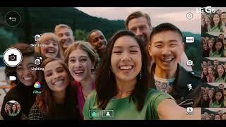 LG G6 Selfie Gran Angular