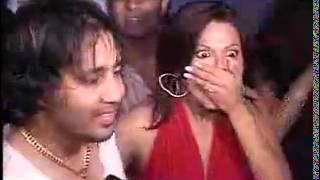Mika kissing Rakhi Sawant