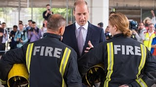 Prince William Breaks Royal Protocol By Comforting Fatal London Fire Victim