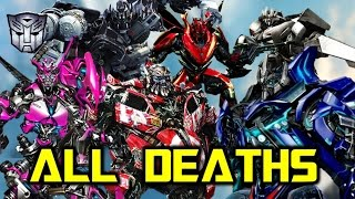ALL PERMANENT AUTOBOT Deaths SO FAR Within The Transformers Movie Franchise!