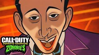 INFINITE WARFARE - ZOMBIES IN SPACELAND INTRO CUTSCENE STORYLINE GAMEPLAY! (IW Zombies Cutscene)
