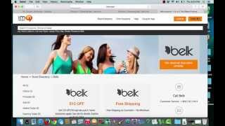 Belk Coupons verification by I'm in!
