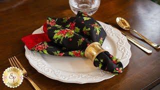 How to Make Cloth Napkins | A Shabby Fabrics Sewing Tutorial