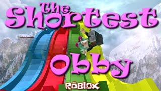 ROBLOX | Shortest Obby EVER! | SallyGreenGamer