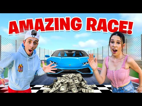 EXTREME 10 000 Race VS My Girlfriend Challenge
