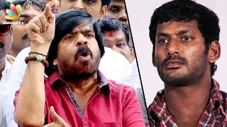Vishal & other leaders can't protest like this : T Rajendar Latest Speech | Producer Council