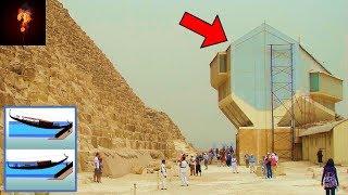 """Floating Crane"" Found Beneath The Great Pyramid?"