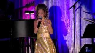 Anna Hilliard (8 year old) sings: Pal Of My Cradle Days / Mamma
