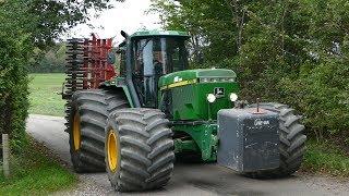 John Deere 4755 Gets The Job Done W/ 6-Meter Horsch Cruiser & HUGE Tires | DK Agriculture