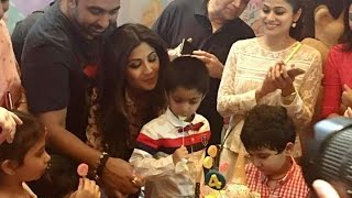 Shilpa Shetty Son Viaan's Birthday Party with Aishwarya, Aaradhya, Sanjay Dutt, Riteish Deshmukh
