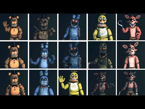 Xxx Mp4 FNaF SFM Original Four Characters Appearance Timeline Series Backstage Animation 3gp Sex