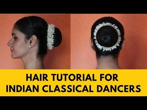 Xxx Mp4 INDIAN CLASSICAL DANCERS HOW TO MAKE THE PERFECT HAIR BUN 3gp Sex