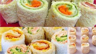 Sandwich Rollups or Pinwheels - Bread Sushi - Kid