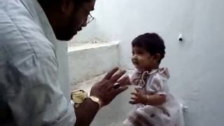 baby arguing with grandfather (Captions for English subtitles)