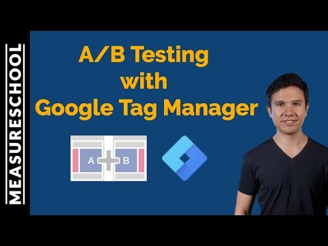 How to AB Test with Google Tag Manager