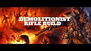 [Grim Dawn] Demolitionist Rifle Build