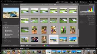 Lightroom   Creating new folders and moving photos