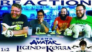 The Legend of Korra 1x2 REACTION!!