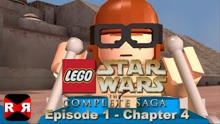 LEGO Star Wars: The Complete Saga - Episode 1 Chp. 4 - iOS / Android - Walkthrough Gameplay