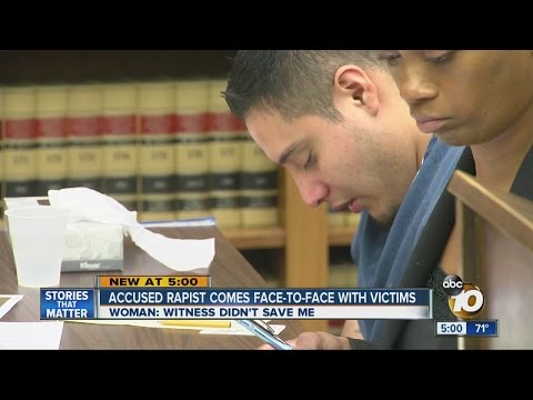 Suspect in rape and kidnapping case faces alleged victims