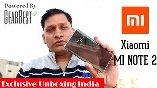 Exclusive Xiaomi Mi Note 2 Unboxing & First Look in India | Sharmaji Technical