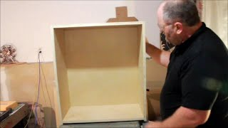 Building Wall Cabinets for the Workshop and Reloading Room