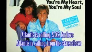 Modern Talking SOS for love (with lyrics)