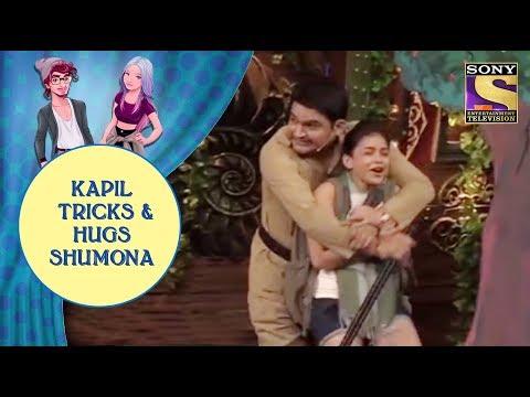 Kapil Tricks & Hugs Shumona Jodi Kamaal Ki