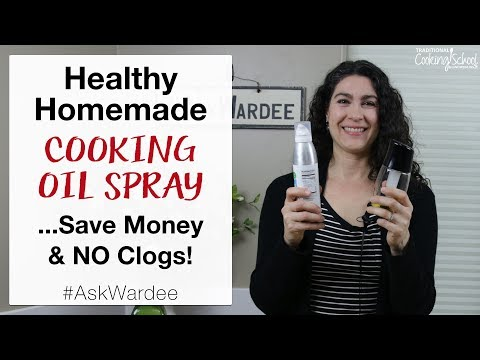 Xxx Mp4 Healthy Homemade Cooking Oil Spray Save Money NO Clogs AskWardee 121 3gp Sex