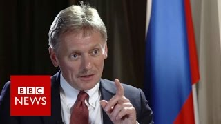 Peskov: Putin spokesman denies US election hack - BBC News