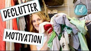 DECLUTTER MOTIVATION   Closet Organization Refresh Tips