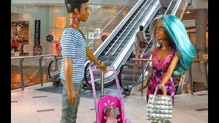 Rodzinka Barbie - Zakupy przedświąteczne. Bajka dla dzieci po polsku odc.49