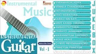 Instrumental Guitar Vol - 1   Evergreen Malayalam Film Songs