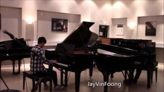 Abba - Super Trouper Piano Duet By KC and JayVinFoong