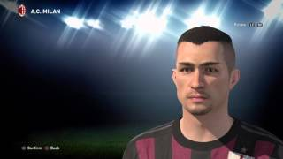 Pro Evolution Soccer 2016_Romagnoli AC Milan