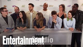 'Supergirl' Cast Teases Calista Flockhart's Return | SDCC 2017 | Entertainment Weekly