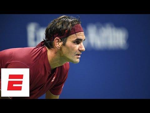 Xxx Mp4 2018 US Open Highlights Roger Federer Dominates Yoshihito Nishioka In Straight Sets ESPN 3gp Sex