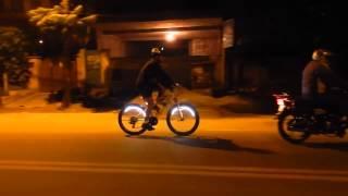 My Firefox Cycle LED Lights - Delhi Cyclist