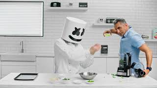 4 HOURS of Cooking for THIS!! Making Egyptian Ta'ameya w/ Bassem Youssef   Cooking with Marshmello