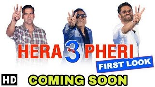 "Akshay Kumar Confirms His New Movie ""Hera Pheri 3"" With Sunil Shetty And Paresh Rawal"