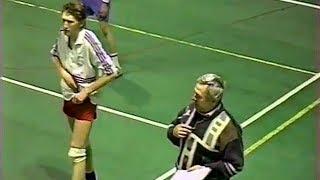 Волейбол по старым правилам. Привет из XX века