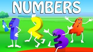Learn Numbers with Number Apple Popsicles Song | Numbers Song | 3D Rhymes For Children in English