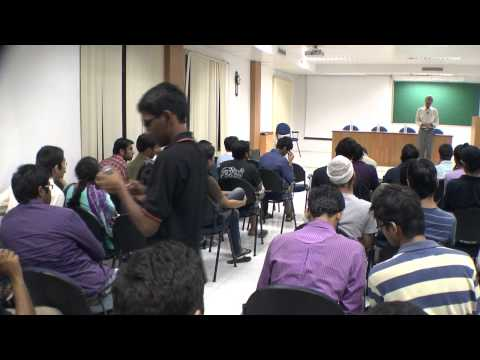 Dr.Rajeev Sangal's talk in IIIT-H before leaving to IIT-BHU, Part-5