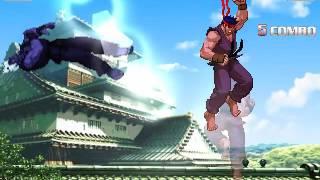 Akuma Oni (Mr.Ansatsuken) VS POTS Ryu (Evil mode by beterhans)